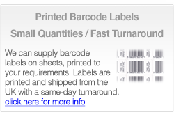 Buy barcode labels online